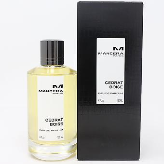 Cedrat Boise by Mancera Eau De Parfum 4oz/120ml Spray New With Box