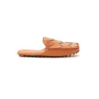 Bottega Veneta 580437vbpu17817 Donne's Pantofole in pelle beige
