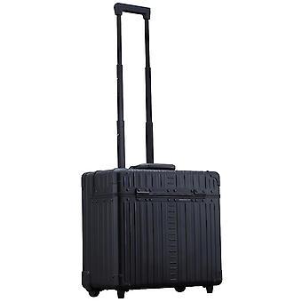 """ALEON Wheel Pilot Case 17"""" Pilot case 42 cm 2 ruedas, negro"""