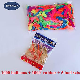 1000pcs Water Balloons Supplementary Package, -beach And Outdoor Party