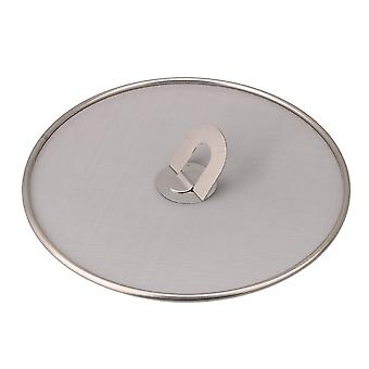 Stainless Steel Grease Fine Mesh Cover 25cm Dia