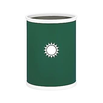 kasualware 14 Inches Oval Wastebasket 13 Qt. Sunshine
