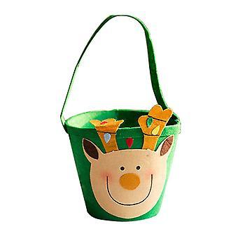 Karácsonyi jávorszarvas ajándékok Bucket Candy Bucket karácsonyi dekoráció