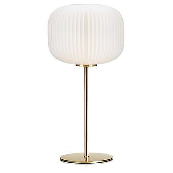 1 Light Indoor Table Lamp Brushed Brass, E27