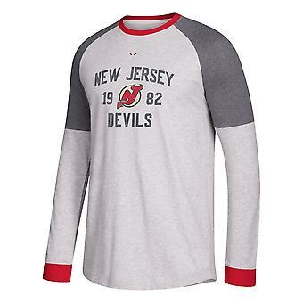 Adidas Nhl New Jersey Devils camiseta de manga larga