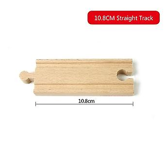 All Kinds Wooden Track Parts Beech Wooden Railway Train Track Toy Fit Biro Wooden Tracks