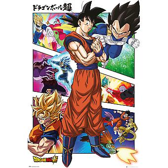 Dragon Ball Super Panels Maxi Poster