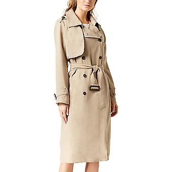 J.O.A. | Double Breasted Trench Coat