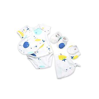 OETEO 6-Piece Newborn Layette Welcome Set
