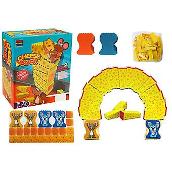 Cheese stacks family game