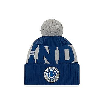 Ny æra Nfl Indinapolis Colts Officielle 2020 Sideline Home Sport Beanie Knit