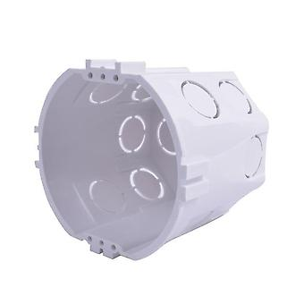 Eu Standard، جدار دائري يتصاعد الصندوق، كاسيت داخلي، صندوق أسلاك، عودة بيضاء