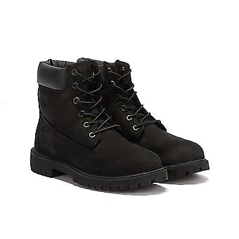 Timberland 6 Cal Premium Wodoodporne czarne buty juniorskie