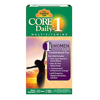 Country Life Core Daily 1, for Women 50+ 60 ct