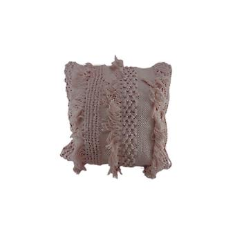 Deco4yourhome Cotton Pillow Soft Pink