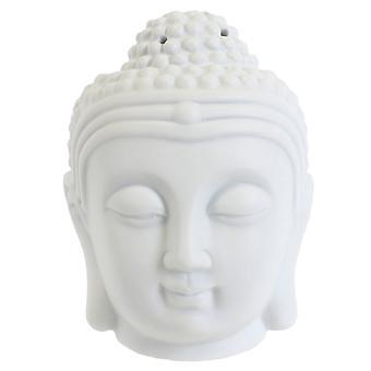 Etwas anderes weiße Buddha Kopf Öl-Brenner