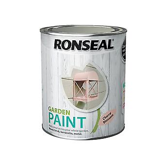 Ronseal Garden Paint Cherry Blossom 750ml RSLGPCB750