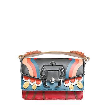 Paula Cademartori Twtfw17vtmxrc28 Women's Multicolor Leather Shoulder Bag