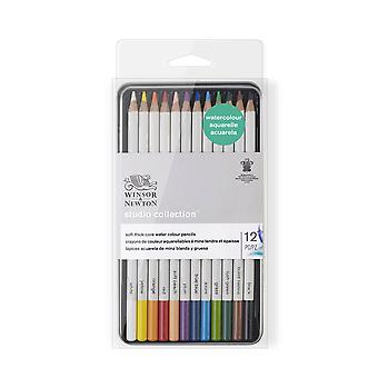 Winsor & Newton Studio Collection Water Colour Pencil 12 Set