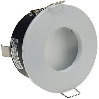 """Einbaustrahler """"FRR-84"""", rund, weiß IP44, mattes Frontglas"""
