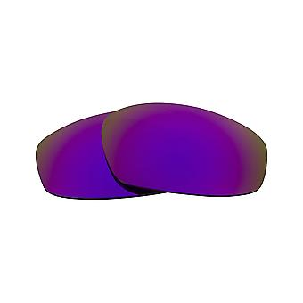 Replacement Lenses for Oakley Split Jacket Sunglasses Anti-Scratch Purple Mirror