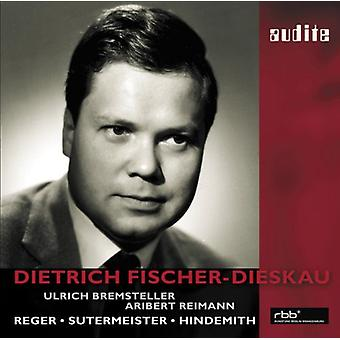 Dietrich Fischer-Dieskau Sings [CD] Usa tuonti