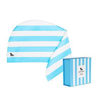 Dock & bay hair wrap - quick dry hair towel - tulum blue