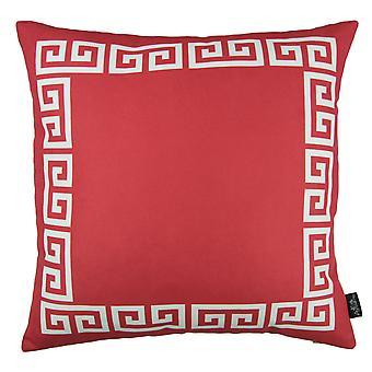 Greek Key Design Throw Pillow Cover