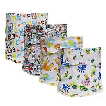 1pc Adult Washable Cloth Diaper - Adjustable , Reusable Ultra Absorbent ,
