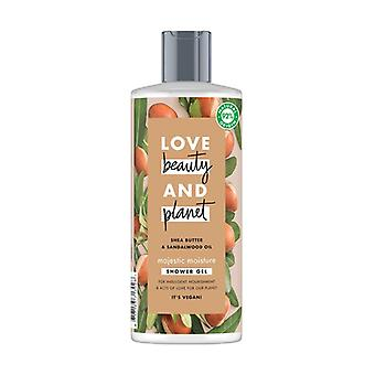 Shea Butter and Sandalwood Oil Shower Gel 500 ml of gel