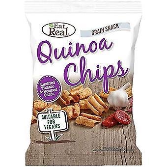 Mangez real Quinoa Sundried Tomato & Garlic Chips 22g x24
