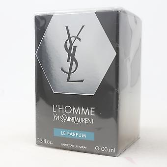 L'homme بواسطة إيف سان لوران لو بارفوم 3.3oz/100ml رذاذ جديد مع مربع