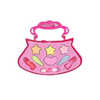 Children Girls Table Makeup And Cosmetics Simulation Toy (as Shown)