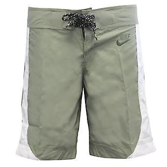 Nike Naisten koulutus board shortsit oliivinvihreä valkoinen 343807 350