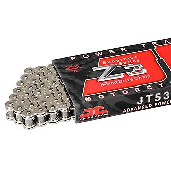 JT 530Z3 120 Link X-Ring Road Racing Drive Chain Chrome Superbike Series