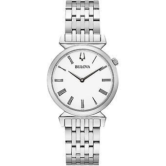 ブローバ 96L275 女性&アポ;s レガッタホワイトダイヤル腕時計
