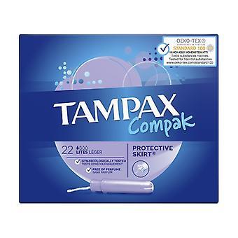 Tampax Compak Lites 22U 22 units