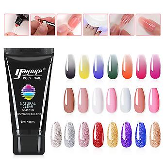 Quick Building Gel Polish Nails Extension Finger Nail Art Manicure Acryl Gel