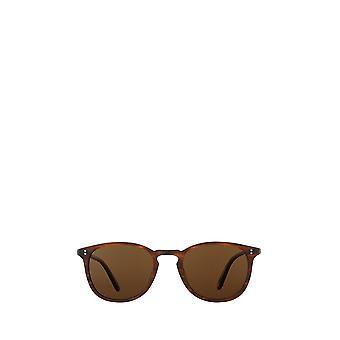 Garrett Leight KINNEY SUN matte brandy tortois unisex sunglasses