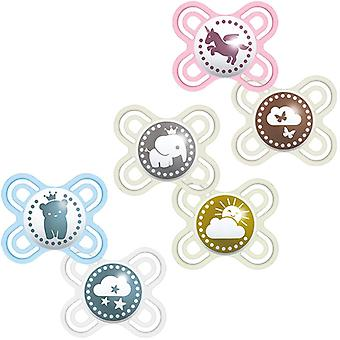 Mam perfect soother 0-2m 2pk each pack sold separately