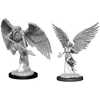 D&D Harpy & Arakocra Nolzur's Marvelous Unpainted Miniatures (Pack de 6)