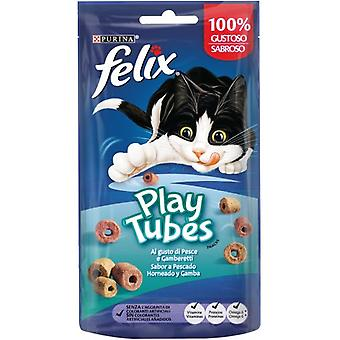 Felix Play Tubes Baked Fish and Shrimp (Cats , Treats , Biscuits)