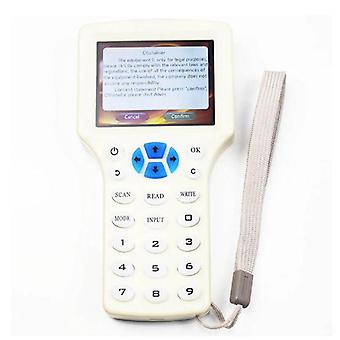 English Super Handheld Rfid Nfc Copier Reader Writer Cloner