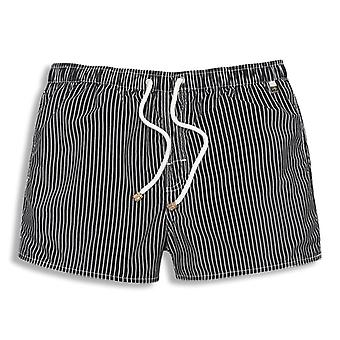 Men Stripe Summer Fashion Beach Shorts
