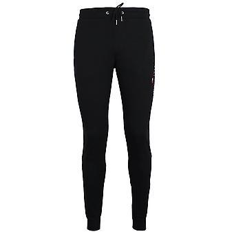 Tommy hilfiger men's essential black sweat pants