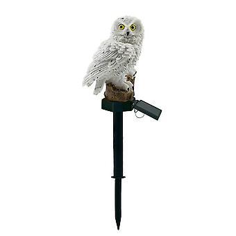 Owl Shape Solar-powered Lawn Lamp