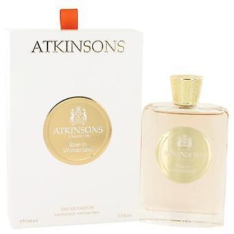 Rose In Wonderland Eau De Parfum Spray By Atkinsons 3.3 oz Eau De Parfum Spray