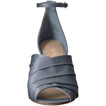 Vince Camuto Womens föreställa Peep tå fotled rem klassiska pumpar