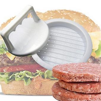 Round Shape Hamburger Press, Food-grade Plastic Meat Beef Grill Maker
