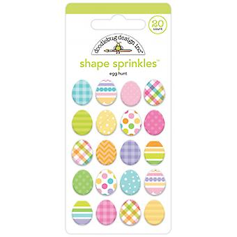 Doodlebug Design Egg Hunt Shape Sprinkles